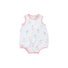 Patton Play Bubble - Sweet Pea Scribbles with Sandpearl Pink