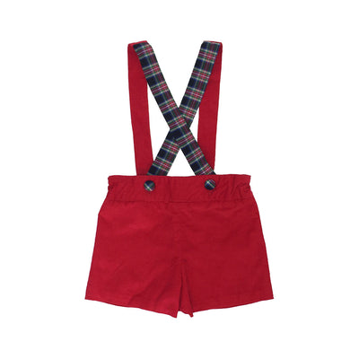Peabody Prep Short - Richmond Red with Ivy Prep Plaid