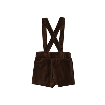 Peabody Prep Short - Chelsea Chocolate Velveteen