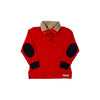 Pendleton Popped Collar - Richmond Red with Navy Stork