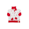 Pendleton Popped Collar - Heart Eyes with Richmond Red