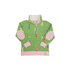 Pendleton Popped Collar - Iveben Spotted with Hamptons Hot Pink