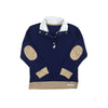 Pendleton Popped Collar - Nantucket Navy with Keeneland Khaki