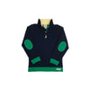 Pendleton Popped Collar - Nantucket Navy with Kiawah Kelly Green & Seaside Sunny Yellow