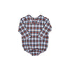 Peter Pan Collar Shirt (Long Sleeve Woven) - Tillingham Tartan