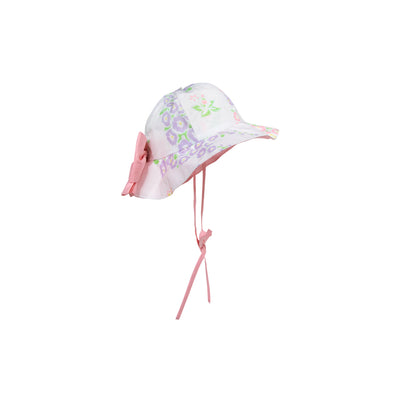Pippa Petal Hat - Old South Snapdragon with Sandpearl Pink