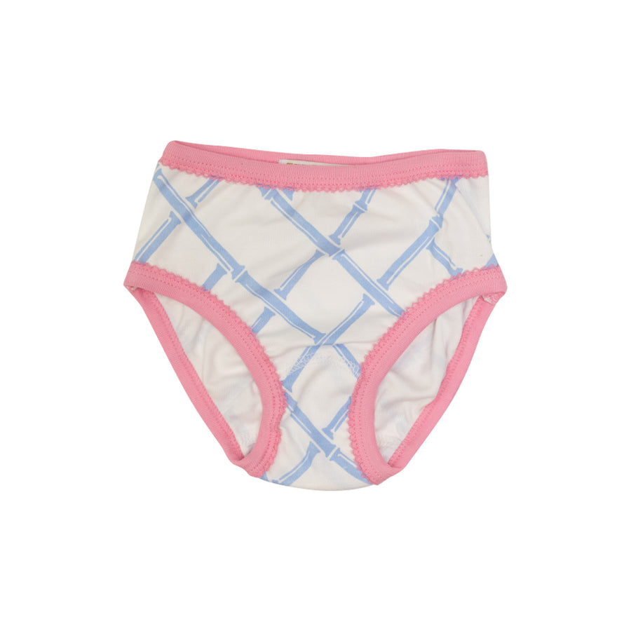 Pippy's Underpinnings - Bamboo Proverbs with Hamptons Hot Pink