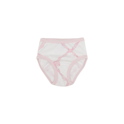 Pippy's Underpinnings - Belle Meade Bow with Palm Beach Pink