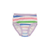 Pippy's Underpinnings - Broad Street Stripe with Lauderdale Lavender
