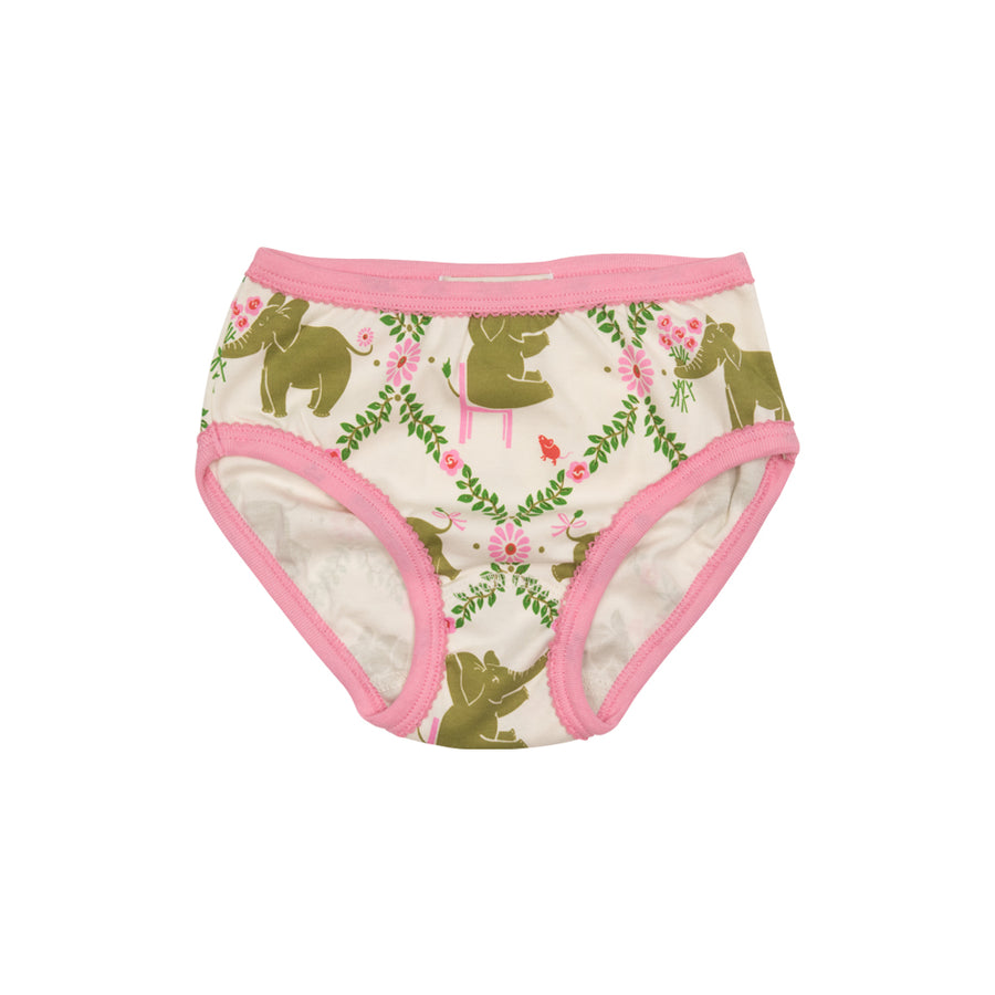 Pippy's Underpinnings - Highland Park Peanut with Hamptons Hot Pink Trim