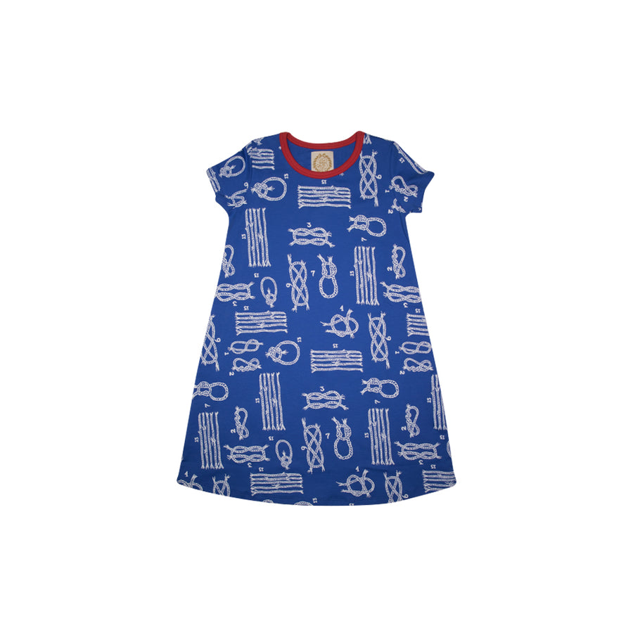 e074eaa591106 Polly Play Dress - Yachts of Knots with Richmond Red ...