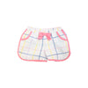 Pollyanna Pocket Shorts - Water Street Windowpane with Hamptons Hot Pink