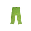 Prep School Pants (Corduroy) - Grenada Green with Barbados Blue Stork