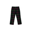 Prep School Pants - Horse Trail Tartan with Richmond Red Stork