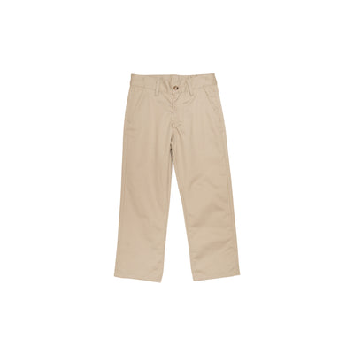 Prep School Pant - Keeneland Khaki with Nantucket Navy Stork