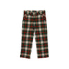 Prep School Pants - Aiken Place Plaid with Nantucket Navy Stork