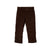 Prep School Pants - Chelsea Chocolate Corduroy with Khaki Stork