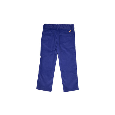 Prep School Pant (Corduroy) - Del Ray Dark Blue with Keeneland Khaki Stork