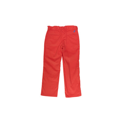 Prep School Pants (Corduroy) - Old Dominion Orange with Park City Periwinkle Stork