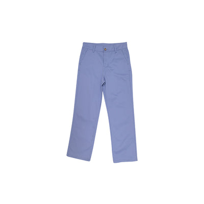 Prep School Pants - Park City Periwinkle with Worth Avenue Stork
