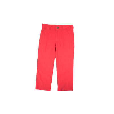 Prep School Pants (Corduroy) - Richmond Red with Grantley Gray Stork