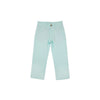 Prep School Pants - Sea Island Seafoam with Worth Avenue White Stork