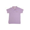Prim and Proper Polo - Lauderdale Lavender with Marietta Mint Stork