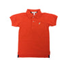 Prim & Proper Polo Shirt - Old Dominion Orange with Keeneland Khaki