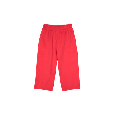 Princeton Pants (Corduroy) - Richmond Red