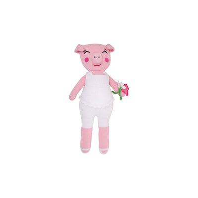 Jumbo Night Night Knit Doll - Pudge the Pig