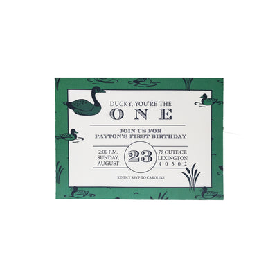 Birthday Invitations - Quack, Quack, Honk