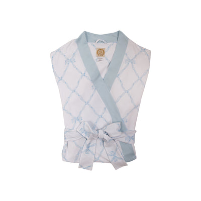 Ready or Not Robe (Ladies) - Belle Meade Bow Buckhead Blue