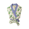 Ready or Not Robe (Ladies) - Grove Park Garden with Park City Periwinkle