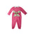 Rebecca Romper - Hamptons Hot Pink with Highland Park Peanut