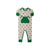 Rowdy Rugby Romper - Mississippi Mallard with Kiawah Kelly Green