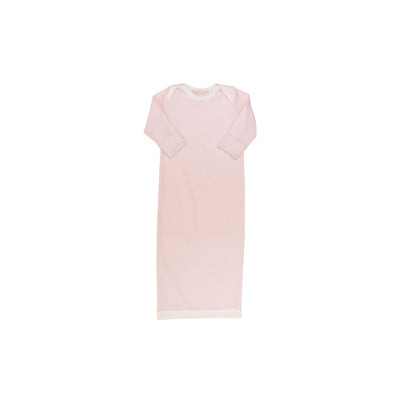 Sadler Sack Gown - Plantation Pink with Worth Avenue White