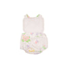 Sally Sunsuit - Worth Avenue White with Old South Snapdragon