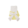 Sally Sunsuit - Seaside Sunny Yellow with White