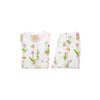 Sara Jane's Short Sleeve Set - Barbados Bamboo with Worth Avenue White