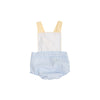 Sayre Sunsuit - Beale Street Blue Stripe with Worth Avenue White & Bellport Butter Yellow