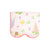 Scalloped Barrett Beach Towel - Old South Snapdragon with Sandpearl Pink
