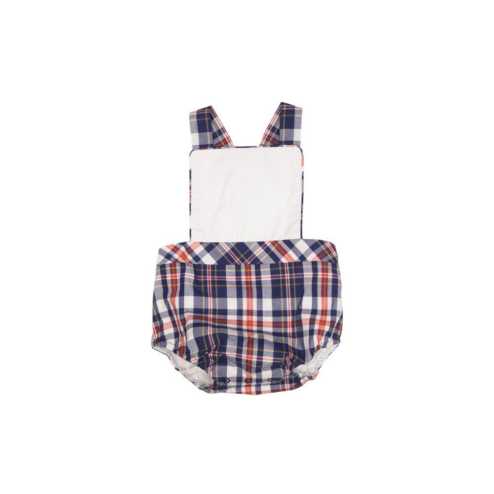 6959a0bf4 Seabrook Sunsuit - Worth Avenue White with Planters Inn Plaid - The ...