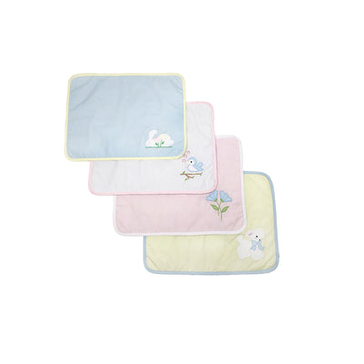 Set the Table Placemats - Bunny, Bird, Flower and Lamb