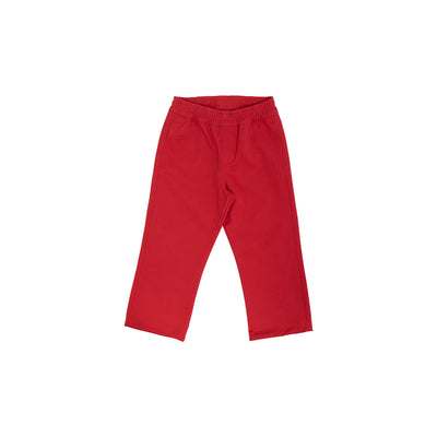Sheffield Pants (Corduroy) - Richmond Red with Nantucket Navy Stork