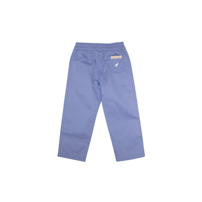 Sheffield Pants - Park City Periwinkle with Worth Avenue White Stork