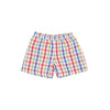 Shelton Shorts - Pinecrest Plaid with Richmond Red Stork