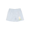 Shelton Shorts - Buckhead Blue with Golf Applique