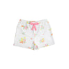 Shipley Shorts - Biltmore Bouquet with Hamptons Hot Pink