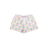 Shipley Shorts - Fairhope Flowers with Worth Avenue White
