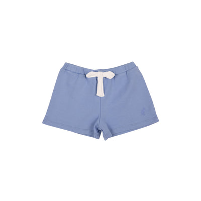 Shipley Shorts - Park City Periwinkle with Worth Avenue White Bow